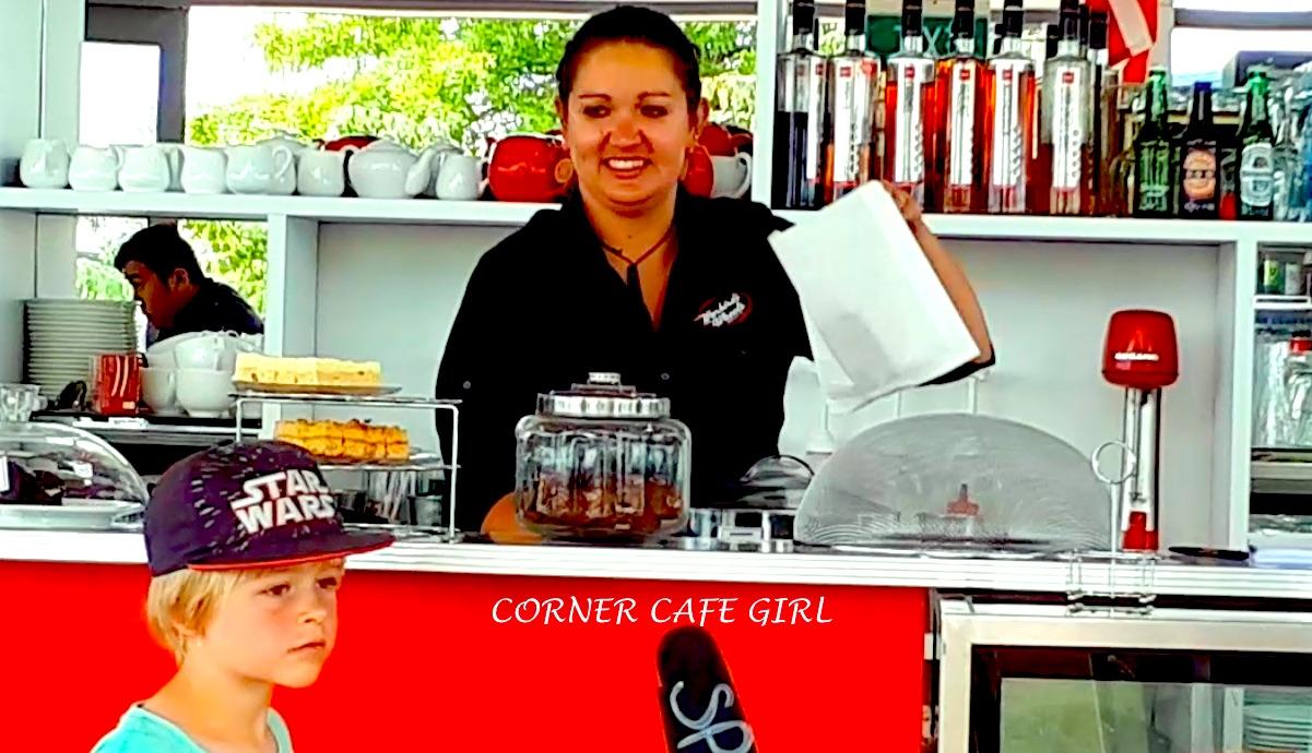 Corner Cafe Girl